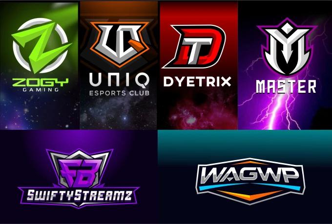 D4gstudio I Will Design Initial Esports Logo For Youtube Gaming For 5 On Fiverr Com Esports Logo Book Design Layout Branding Design Logo
