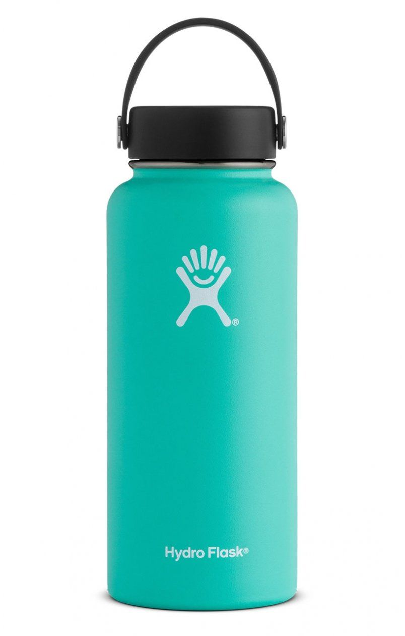 24b9725e44 Hydro Flask 32 oz Wide Mouth in 2019 | want | Water bottle with ...