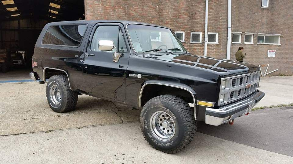 1989 Gmc Jimmy Same As A Blazer Trade In So We Will Not Be Going