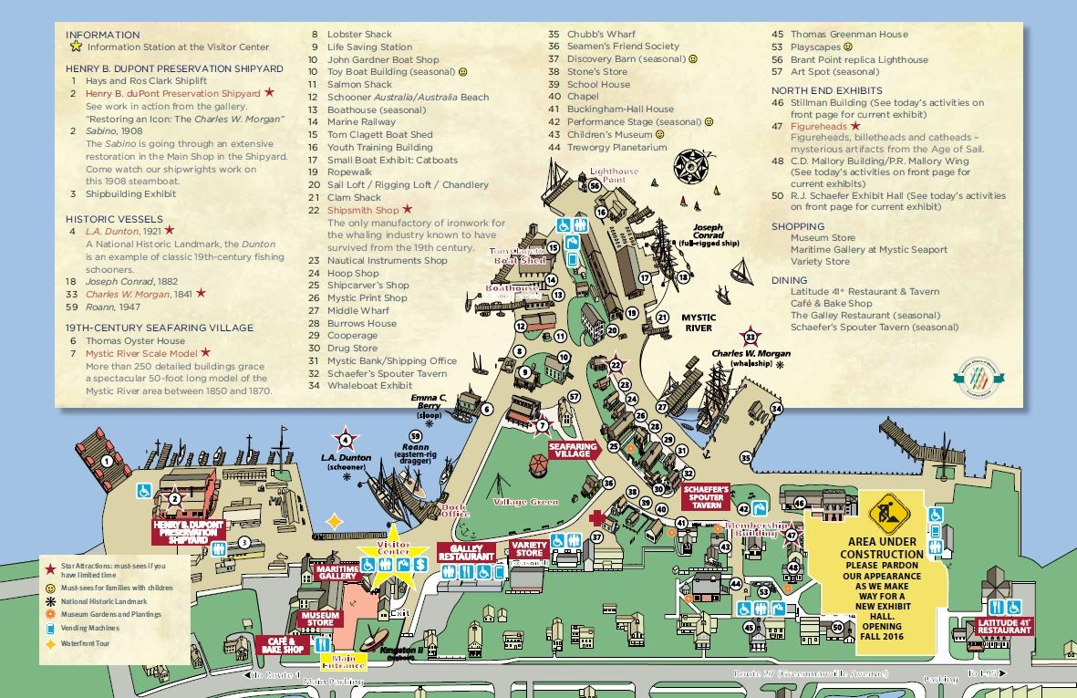 Seaport Village Map Map | Mystic Seaport … | Visit CT.. | Pinterest | Mystic  Seaport Village Map