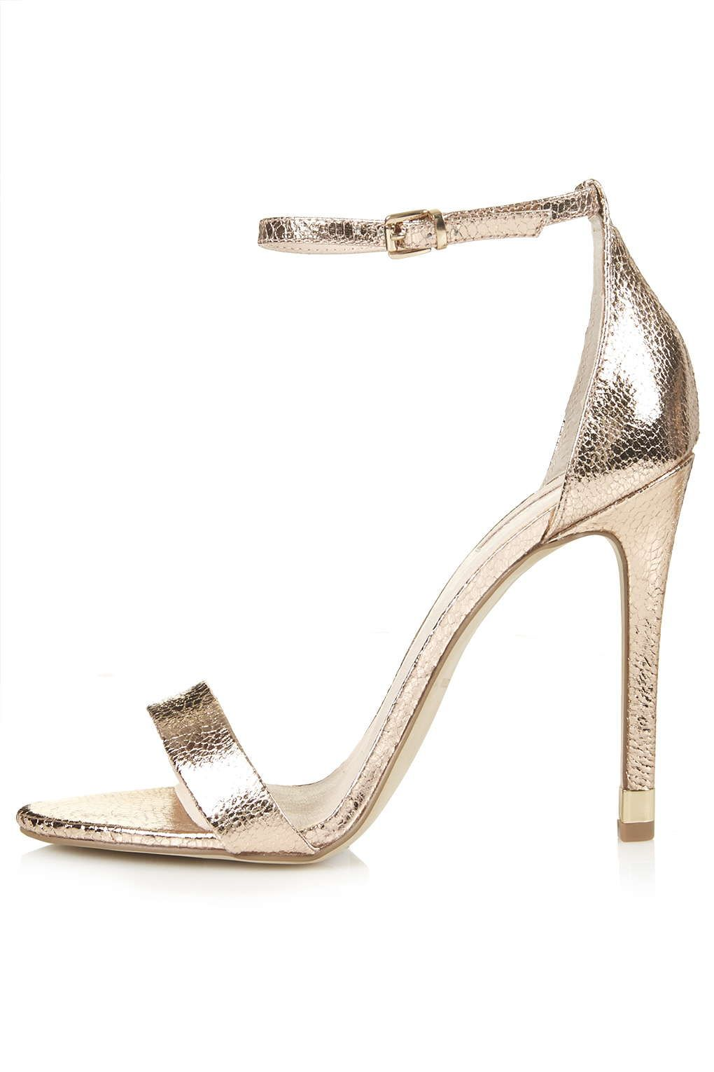 RUBY Metallic High Sandals - Topshop | Stiletto | Pinterest | High ...