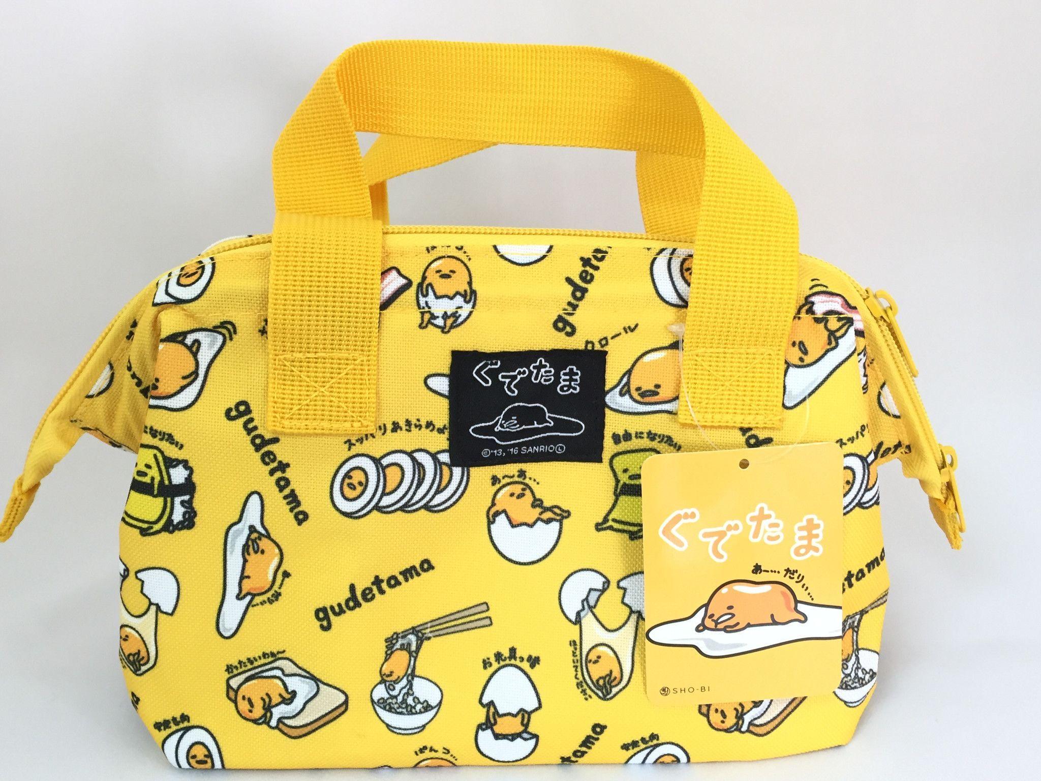 8ebe0ff1c8 SANRIO Gudetama Wire Cooler Tote Bag For Lunch Tote Food Bento Box From  Japan Gi bag Belt handle