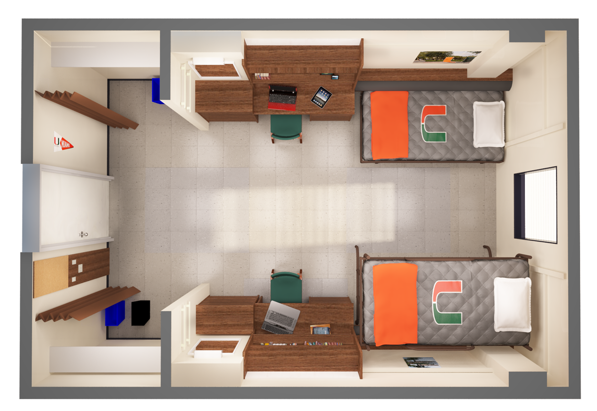 Room accommodations residential life and housing for Design your dorm room layout