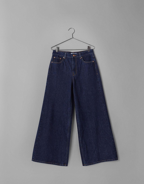 Bershka Jeans Wide Leg High Rise