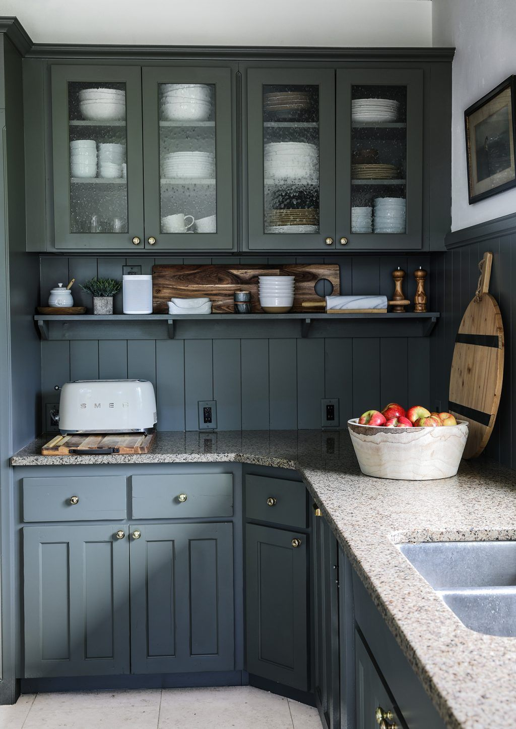 Our Modern Cottage Kitchen Makeover On The Cheap Kitchen Remodel Small Cottage Kitchen Kitchen Makeover