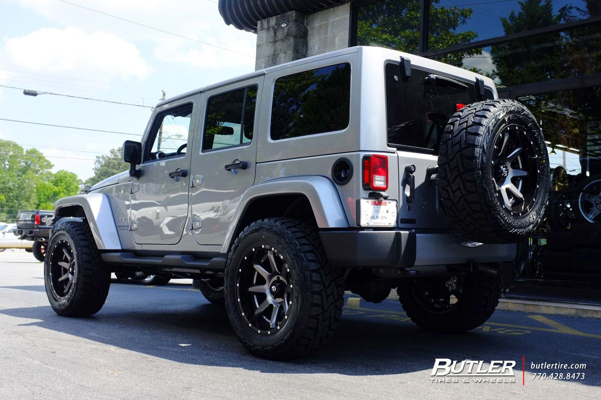 medium resolution of jeep wrangler with 20in fuel rampage wheels