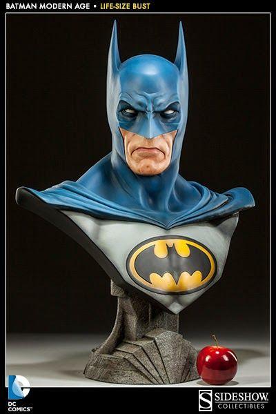 BLOG DOS BRINQUEDOS: Batman Life-Size Bust