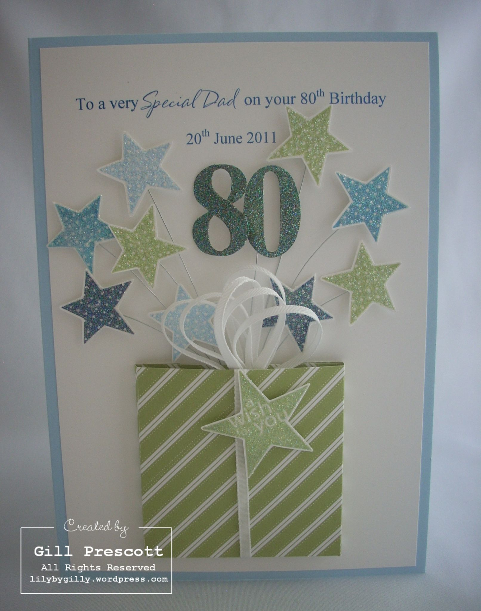 My Lovely Friend And Neighbour Asked Me To Make An 80th Birthday Card For Her Dad She Wanted Differe 80th Birthday Cards Special Birthday Cards Cards Handmade