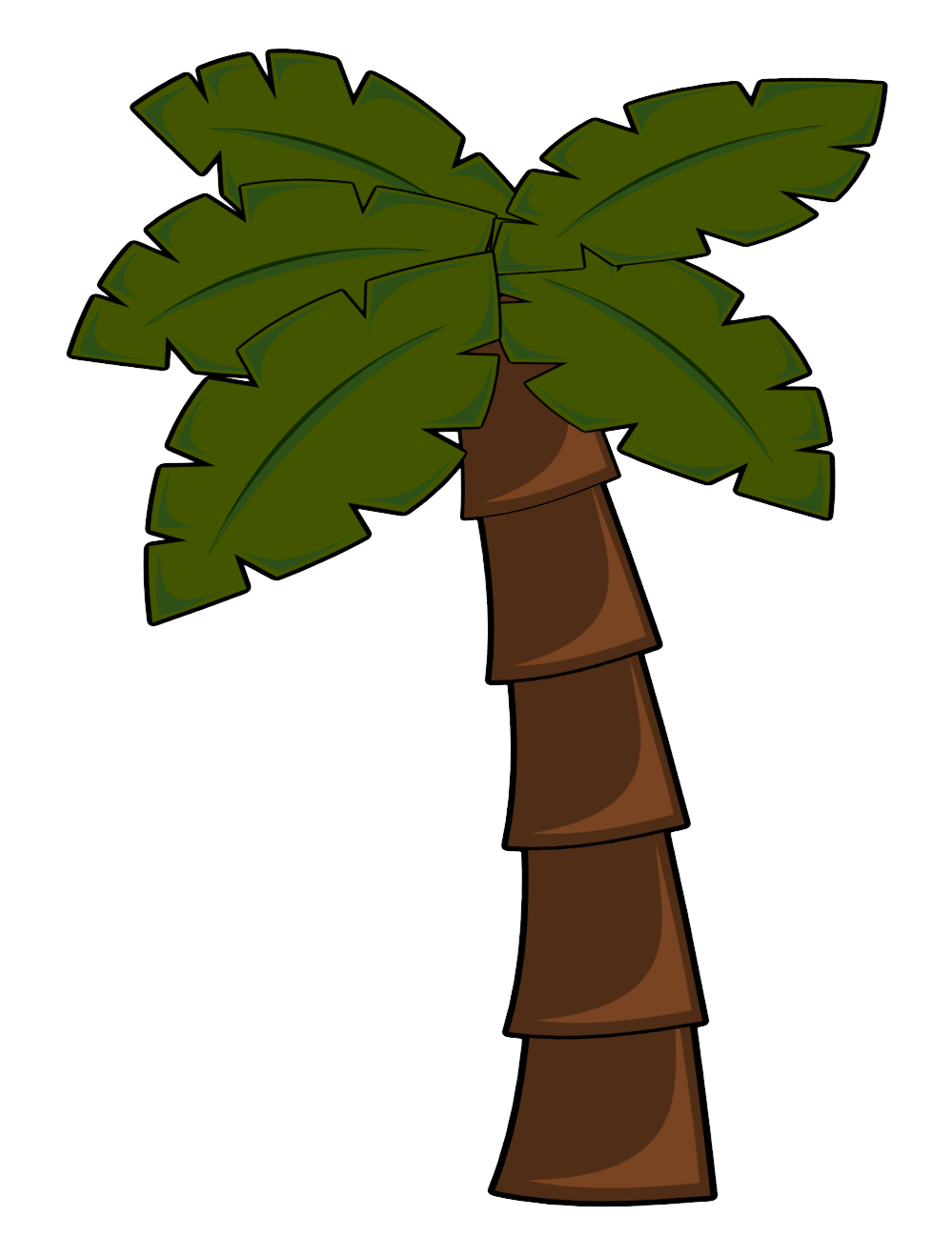 small resolution of luau palm tree clip art clipart panda free clipart images