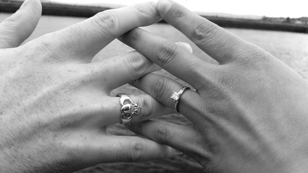 how to wear a claddagh ring in a relationship