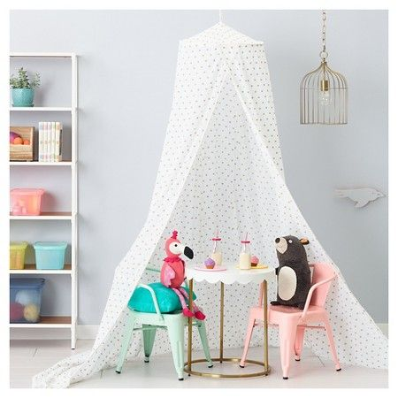 Metallic Hearts Bed Canopy - White - Pillowfort™  Target  sc 1 st  Pinterest & Metallic Hearts Bed Canopy - White - Pillowfort™ : Target | Rubyu0027s ...