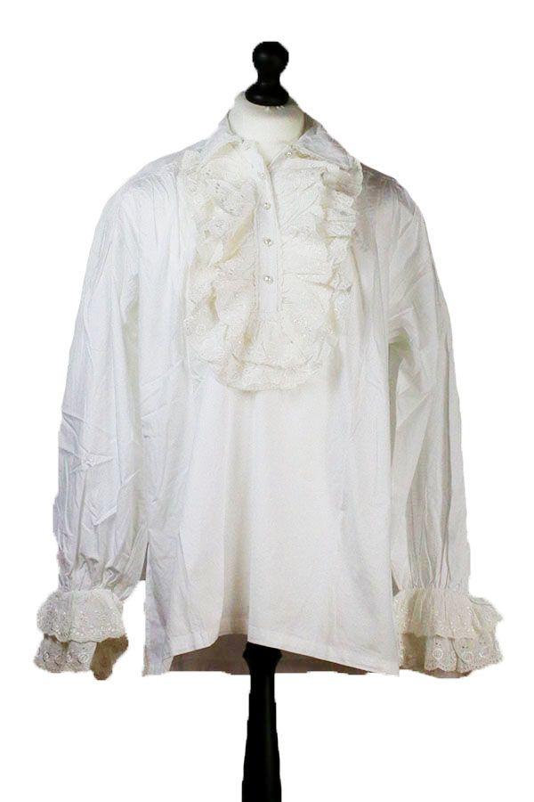 Mens Ruffle Shirt