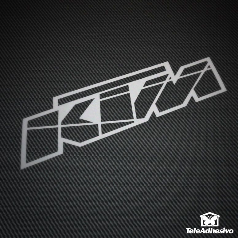Car and motorbike stickers ktm logo 2 · dirt bikesmotocrossktmcar