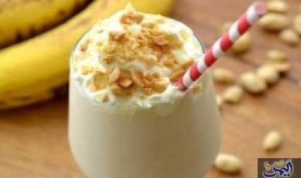 ميلك شيك الفول السودانى Skinny Peanut Butter Milkshake Recipes Desserts