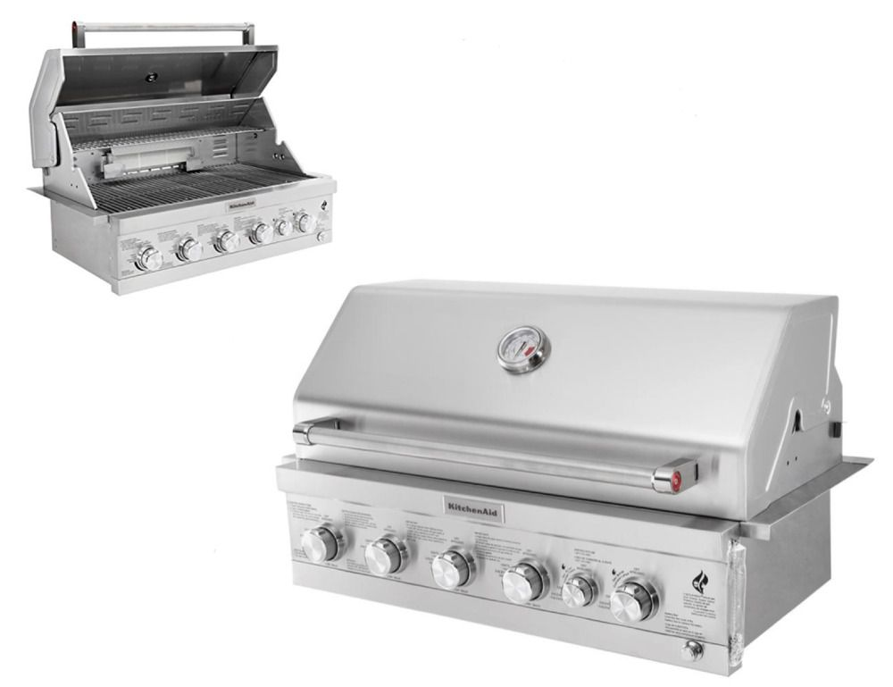 Details About Gas Grill Island Top 36 4 Burner Built In Propane Patio Outdoor Kitchen Bbq New Grill Island Bbq Outdoor