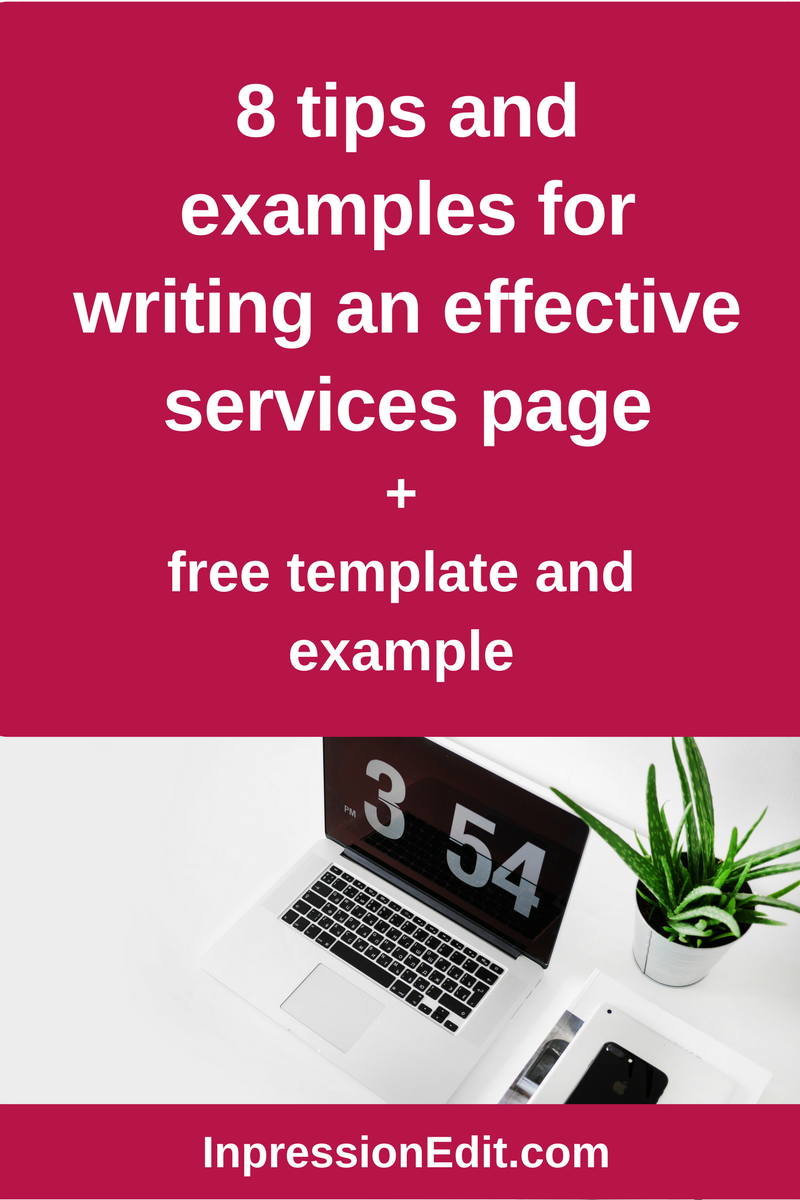 003 8 tips and examples for writing a highconverting services