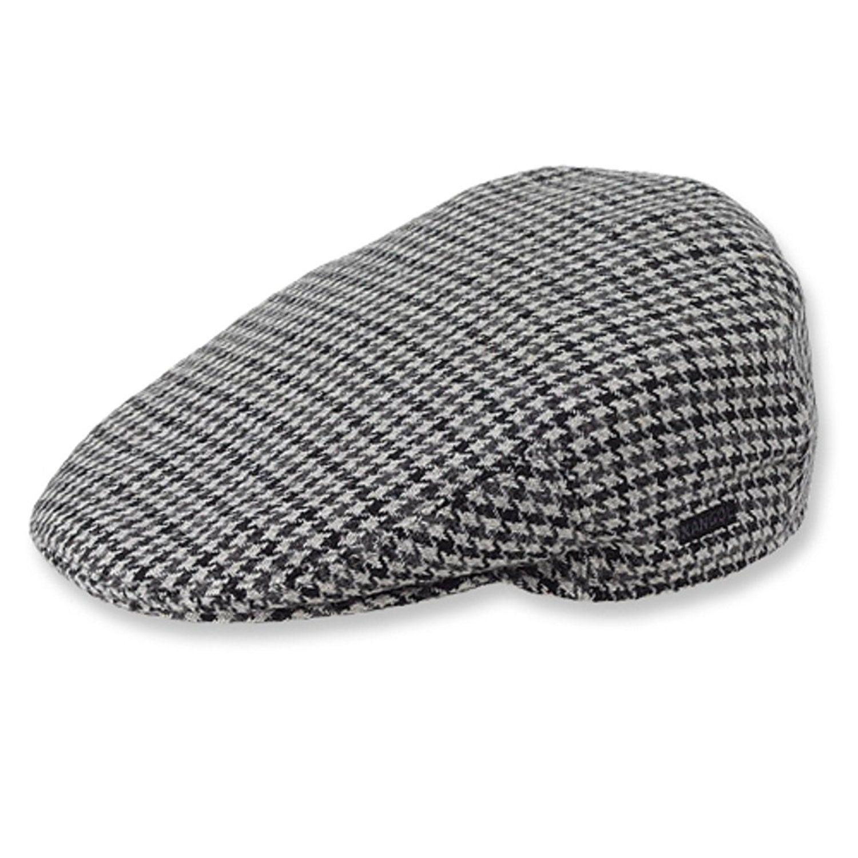 8c56839767af9 Kangol Men s Tweed Peebles Cap (Small