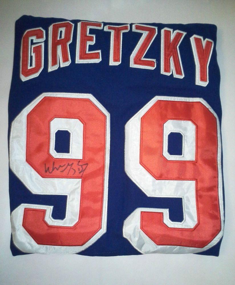 Wayne Gretzky New York Rangers Autographed Jersey | Stuff to Buy ...