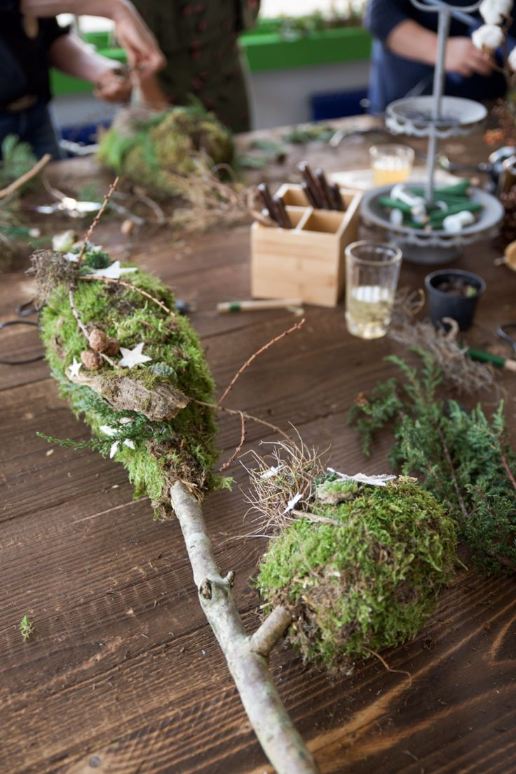 Photo of That was our winter decoration workshop – CREATIVE-NATURAL-IDEAL