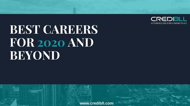 Best Careers 2020.Here Ate Best Careers For 2020 And Beyond 2020 Careers
