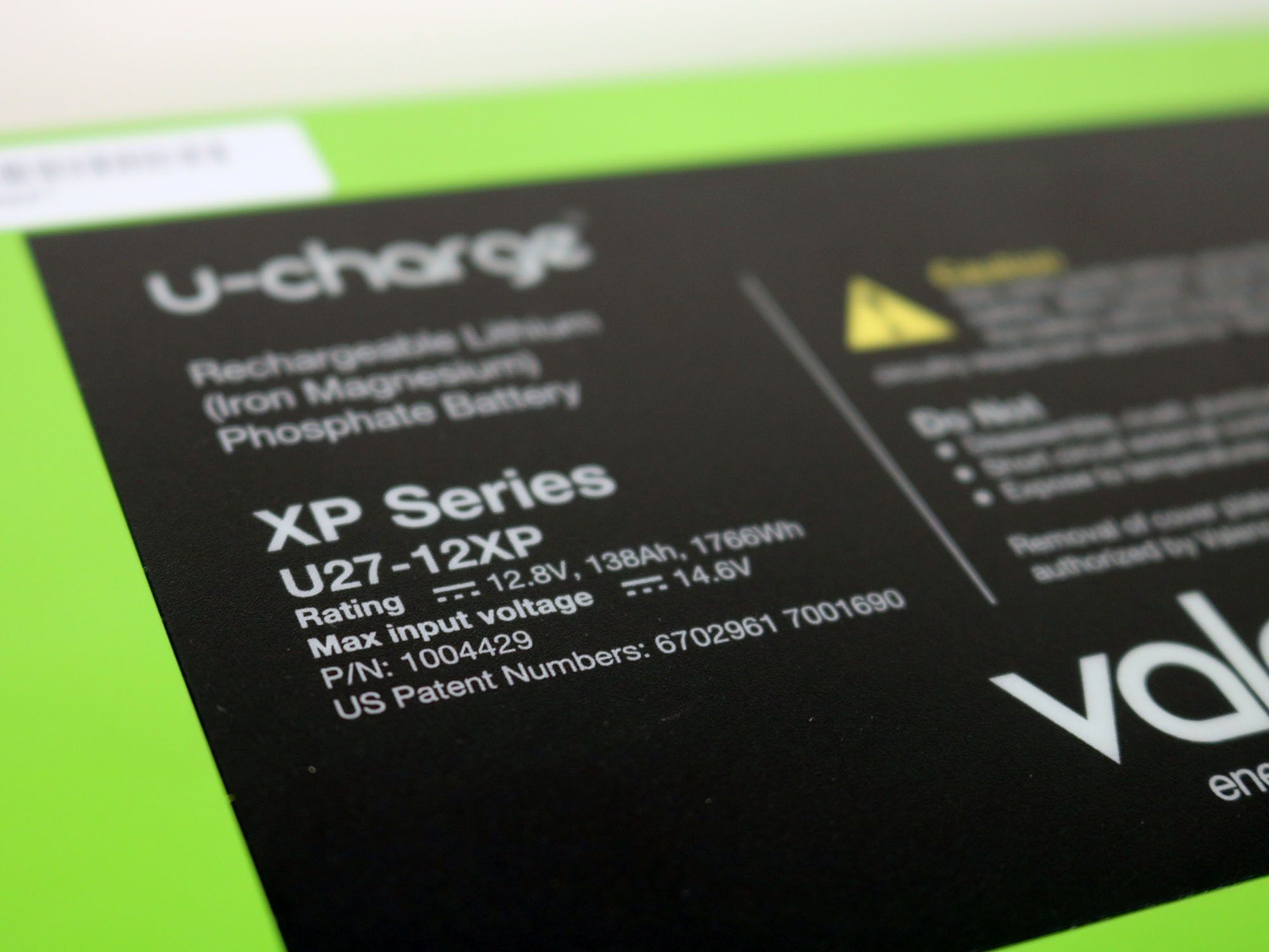 Valence U27 12xp Lithium Ion 12v 138ah U Charge Battery Modules In 2020 Energy Density Charge Battery Energy Storage