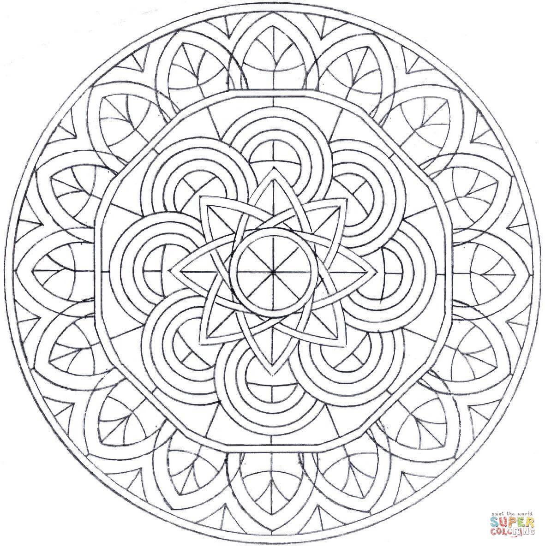 Mandala Coloring Page Free Printable Coloring Pages Mandala Coloring Pages Mandala Coloring Coloring Pages [ 1186 x 1181 Pixel ]