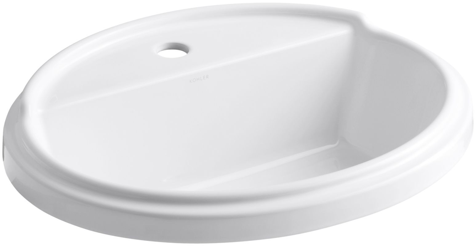 Kohler K 2992 1 Drop In Bathroom Sinks Bathroom Sink Faucets Sink Faucets