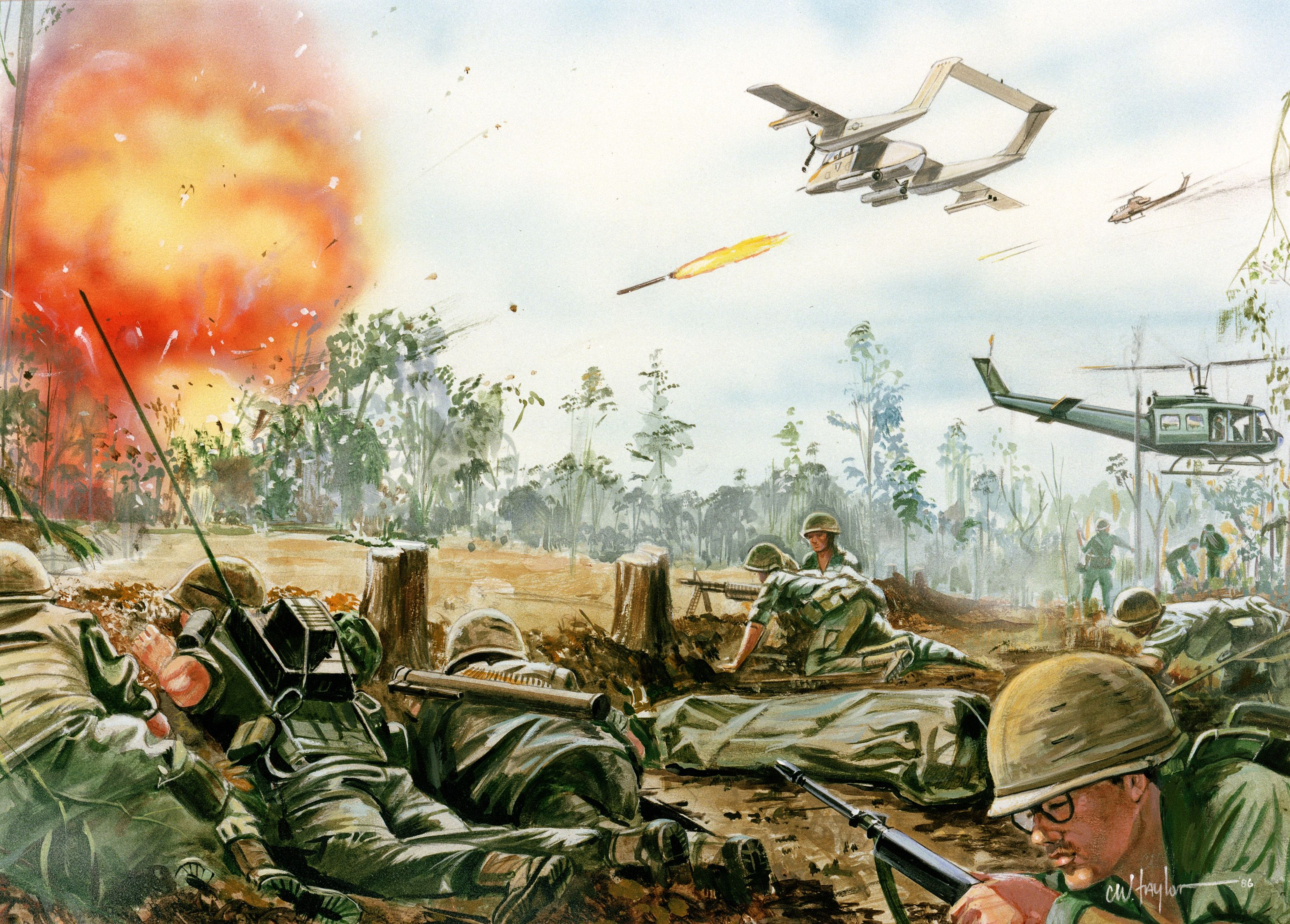 Arte Vietnam English Military Battle Wallpaper Korea Vietnam Vietnam Vietnam