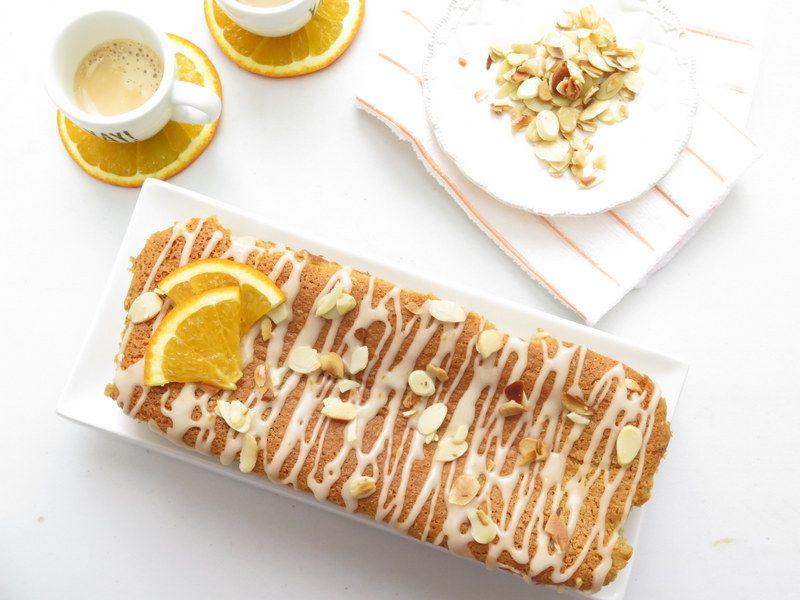עוגת תפוזים ושקדים עסיסית ב-5 דקות עבודה