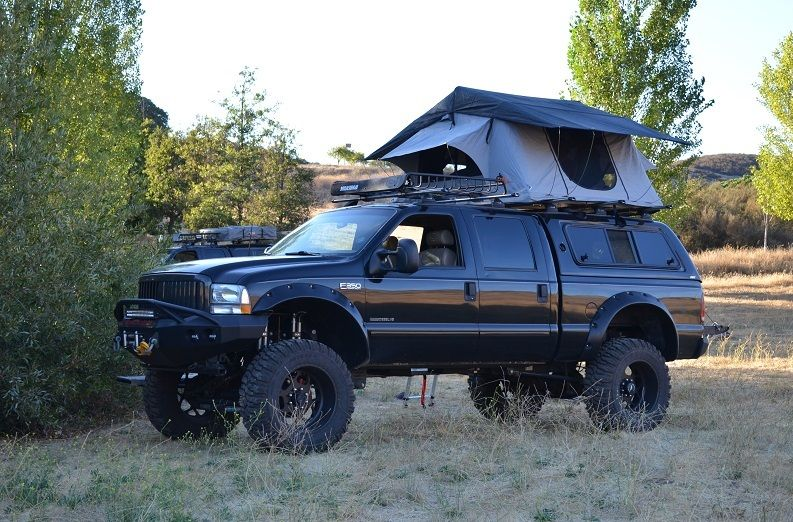 Roof Top Tent Truck Camping Car Extra Large With Stargazing
