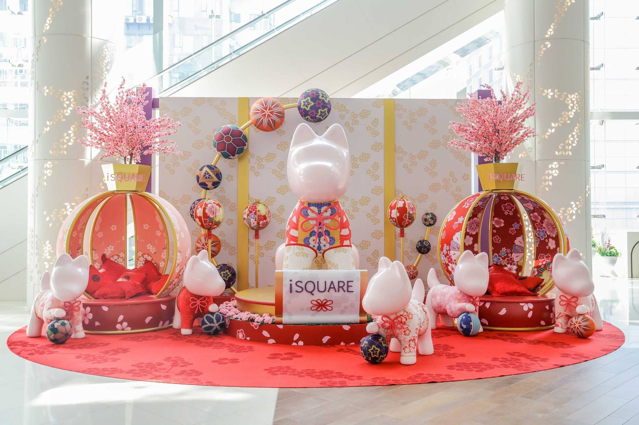 iSQUARE,HK_Lunar New Year2018_2 | Chinese new year ...