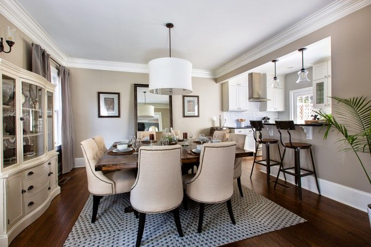Property brothers before and after kitchen google search for Property brothers dining room designs
