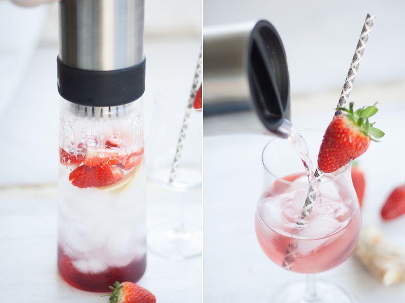 Strawberry Ginger Tea