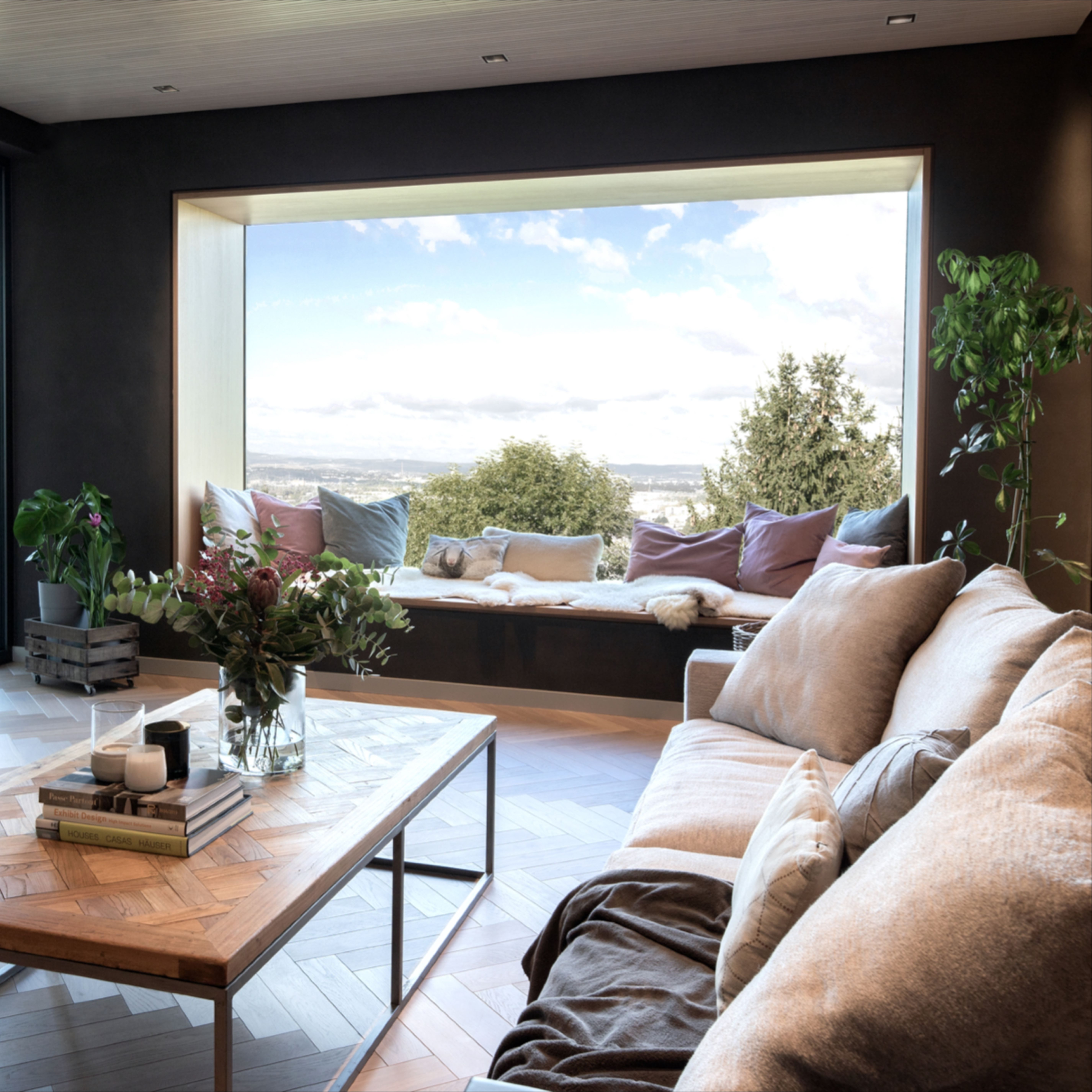 Panoramafenster   Panorama fenster, Hausrenovierung, Innenarchitektur