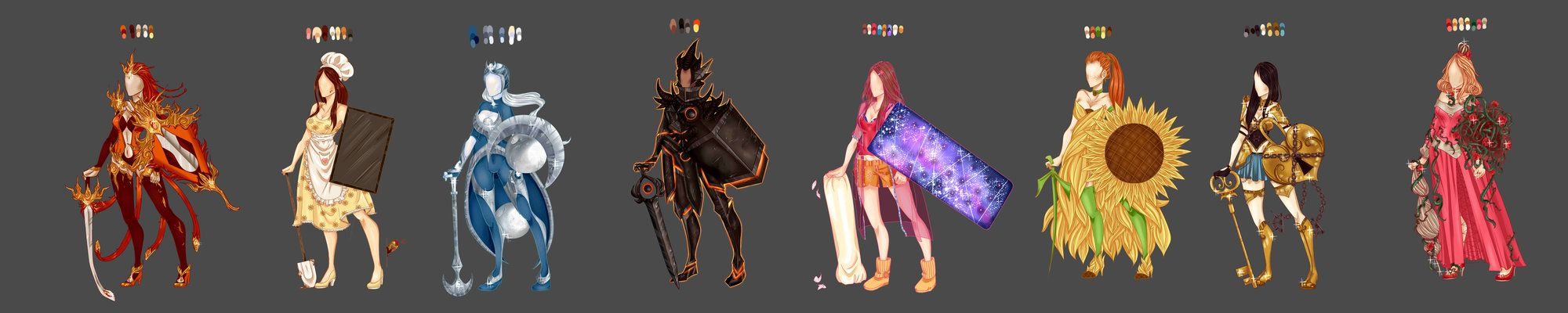 Leona Skin Concepts By Carhingin League Of Legends League Of