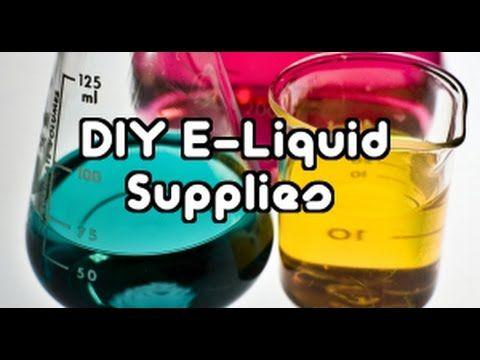 (DIY) How To Make Your Own E Cig Vape Juice/Liquid Flavors   Recipes & S..