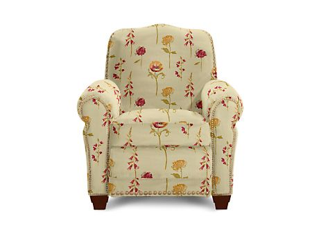 Lazy Boy Recliner Faris Model In Magnolia Fabric Living