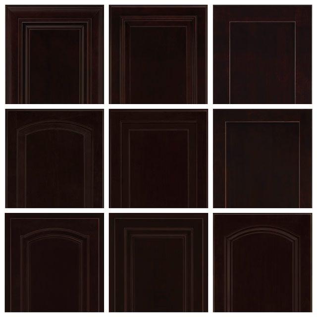 Maple Espresso Timberlake Cabinets