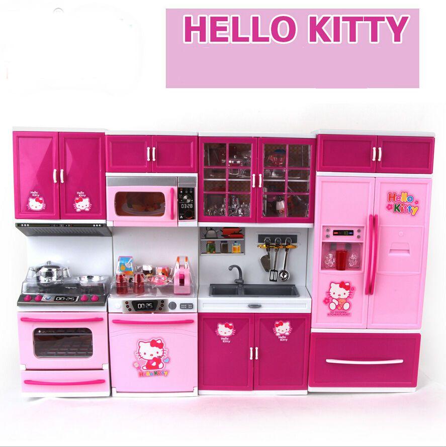 Presente Ol Kitty S Rie De Brinquedo Infantil Beb Feliz Simula O