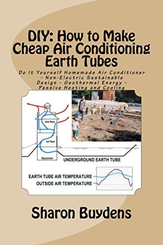 Diy How To Make Cheap Air Conditioning Earth Tubes Do I