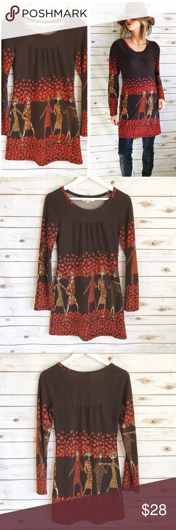 795a494e917d3 ARYEH Fashionista Sweater Tunic Dress