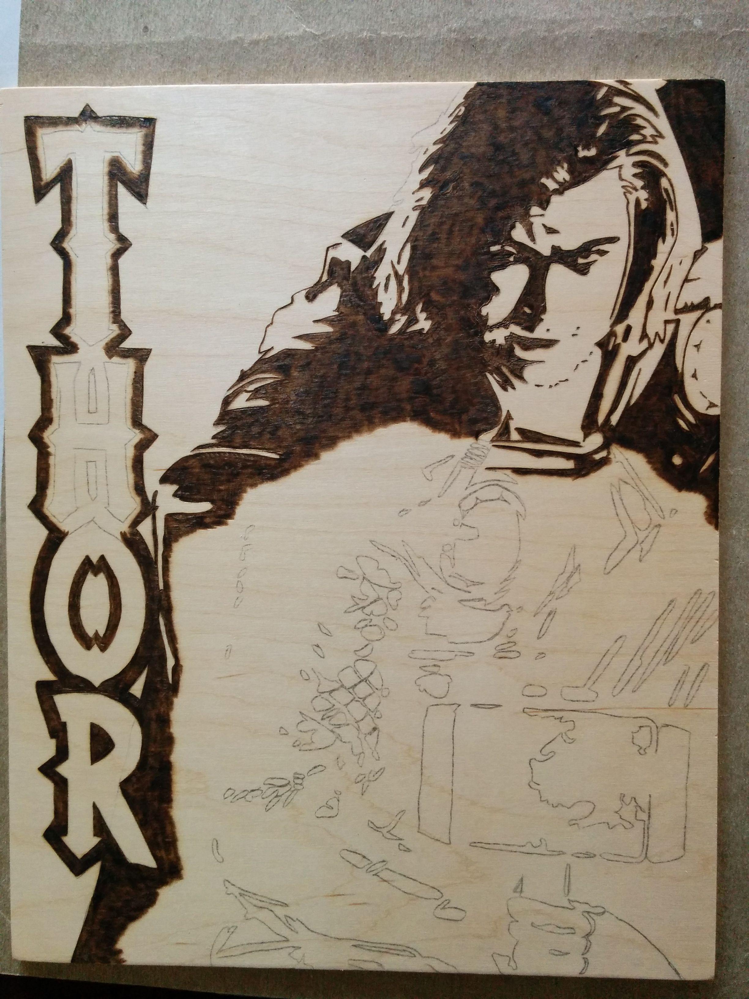 Thor in Progress