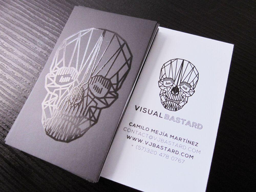 Visual Bastard bussines card