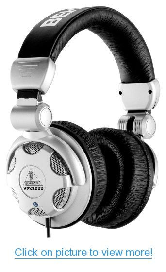Behringer HPX2000 Headphones High-Definition DJ Headphones #Behringer #HPX2000 #Headphones #High_Definition #DJ