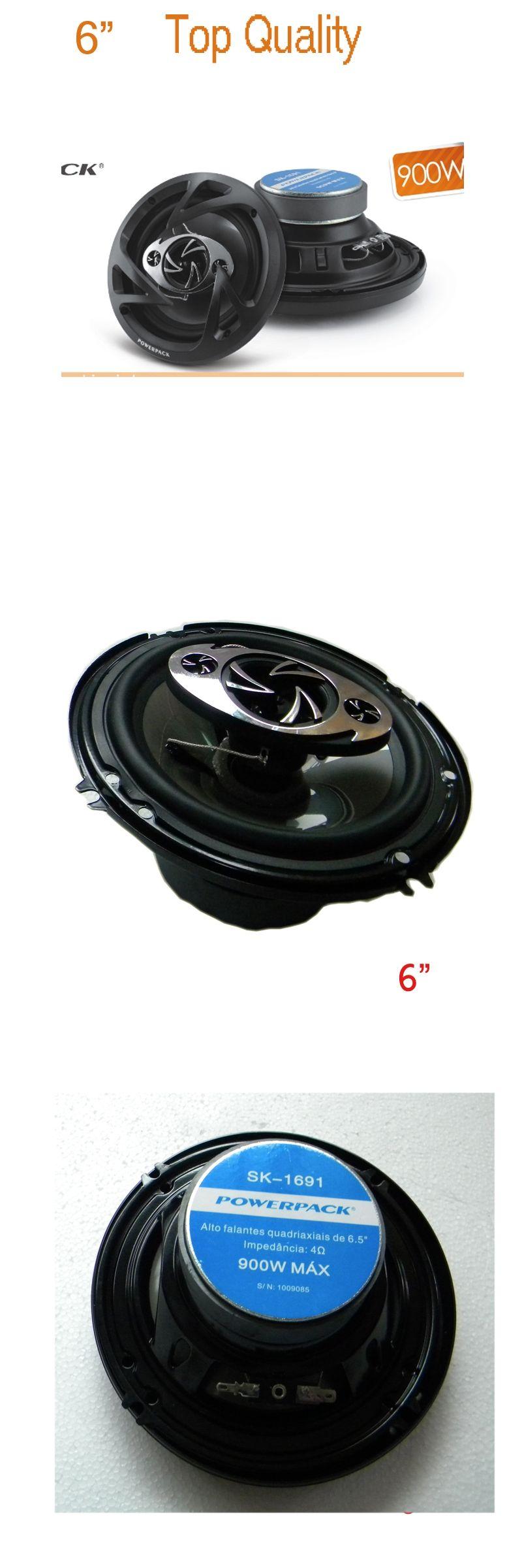 6 Coaxial Car Speaker New Arrival Car Audio Acoustic Speakers Hi