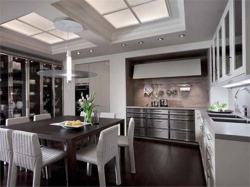 Eclectic Kitchen Designs: BeauxArts.02 by SieMatic | Stainless steel ...