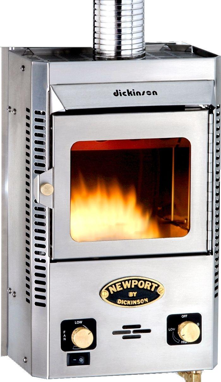 Dickinson 00 New P12000 Newport Bulkhead Heater Propane