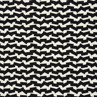 Dazzling Black Decorating Fabric By F Schumacher Item 176670