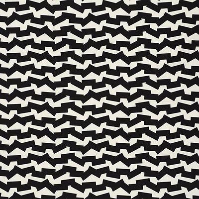 Dazzling Black Decorating Fabric By F Schumacher Item 176670