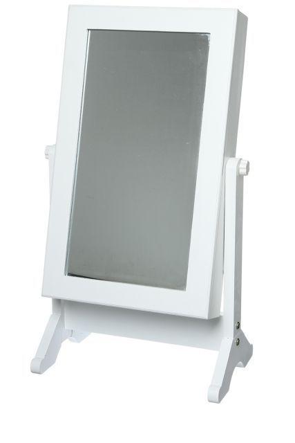 Porte bijoux miroir psyché, 34 22 62 cm | Bijoux | Pinterest